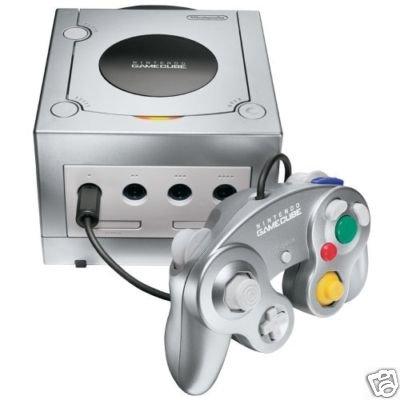 GameCube Konsole Platin