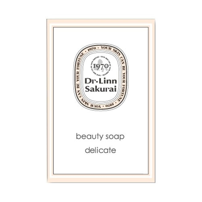 主導権黒板移行するドクターリンサクライ 洗顔石鹸 ビューティソープ デリケート (90g)