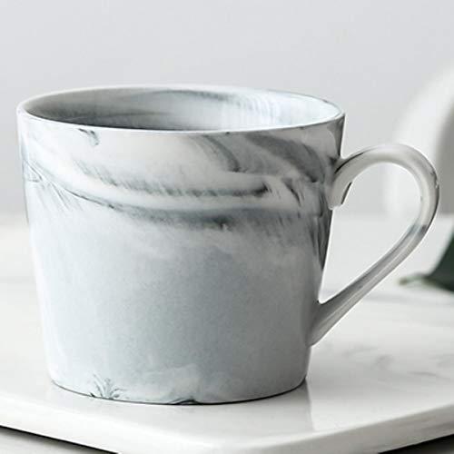 Taza de café de mármol de cerámica de lujo de oro rosa Mr Mrs de la boda de la novia de las parejas de los amantes de la taza de porcelana de la leche del té taza del desayuno