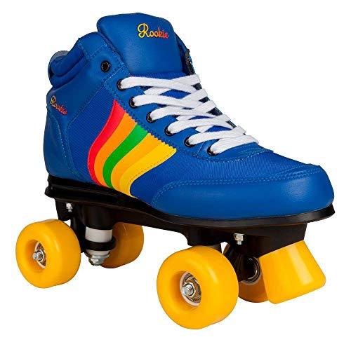 Rookie Rollerskates Forever Retro Rollschuhe Unisex Kinder blau (Navy), 3 Kinder