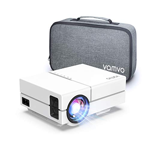 Vamvo Proyector Full HD 1080P 5000 Lux, Mini Proyector Portátil...