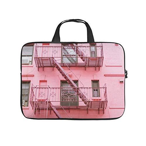 Neoprene Sleeve Laptop Handle Bag Handbag Notebook Case Cover,Pink Soho NycPortable MacBook Laptop/Ultrabooks Case Bag Cover 12 Inch