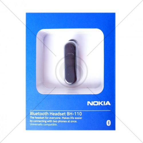NOKIA Headset, BLUETOOTH, ORIGIN NOKIA BH - 110/multipoint, Schwarz