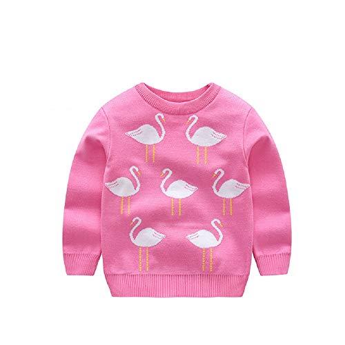 Engqueen Manicotto Lungo dei Maglioni del Pullover tricottato Maglione del Cashmere del Fumetto Sveglio delle Ragazze dei Ragazzi