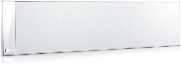 KEF T301C Center Channel Speaker - White (Single) Pure White/Satin