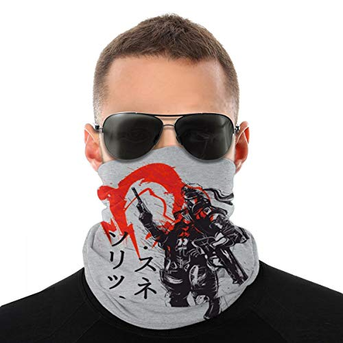 BIZHUDP Red Sun Snake Metal Gear Solid Variety Head Scarf Face Mask Magic Headwear Neck Gaiter Face Bandana Scarf