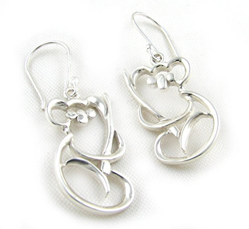 925 Sterling Silver Koala Bear Earrings