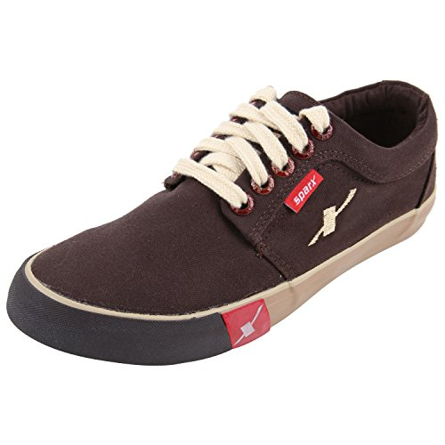 Sparx Men's SC0175 Series Dark Brown Canvas Casual Shoes 9Uk