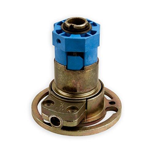 DIWARO® K021 Rolladengetriebe | Untersetzung 3:1 Rechts | 6mm Innenvierkant (durchsteckbar) | Kurbelgetriebe, Kegelradgetriebe für SW 40 Rolladen Stahlwelle im Rolladenkasten …
