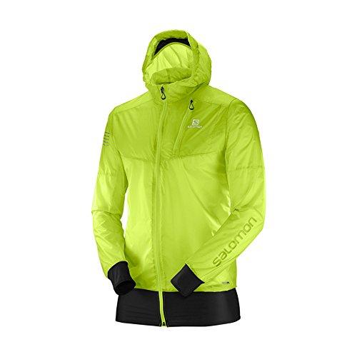 Salomon Men's Fast Wing Hybrid Jacket, Acid Lime, Medium
