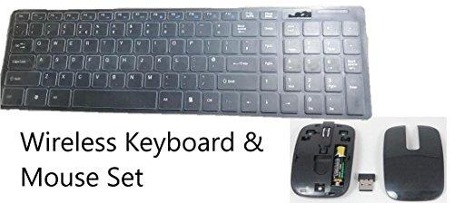 Wit draadloos toetsenbord & muis voor iMac 21.5
