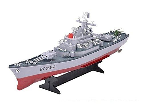 MODELTRONIC Barco Radio Control de Guerra Navío Militar Acorazado Escala...