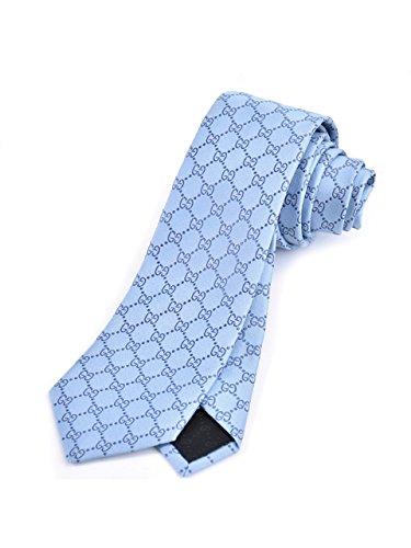 (グッチ) GUCCI ネクタイ 282873 4969 ブルー 並行輸入品