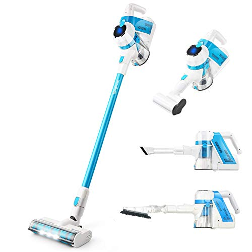 Buy Bargain SIMPFREE Cordless Vacuum Cleaner, Extra Tools for Homes with Pets, Rechargeable, Lightwe...