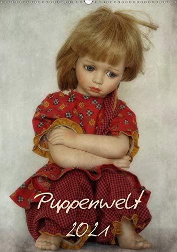 Puppenwelt 2021 (Wandkalender 2021 DIN A2 hoch)