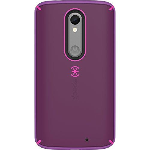 Speck Mighty Shell Schutzhülle für Motorola Droid Turbo 2, Einzelhandelsverpackung, Shocking Pink