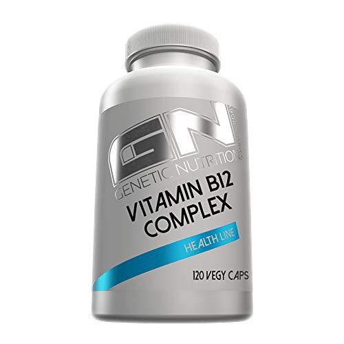 GN Laboratories Vitamin B12 Complex Folsäure Gesundheit Leistungsfähigkeit 120 Kapseln