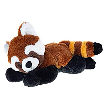 Wild Republic EcoKins Red Panda Stuffed Animal 12 inch Eco Friendly Gifts for Kids Plush Toy Handcrafted Using 16 Recycled Plastic Water Bottles