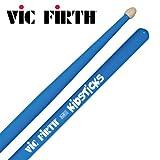 Vic Firth American Classic KIDS - Baqueta (Punta de Madera), 33.02 cm, Azul