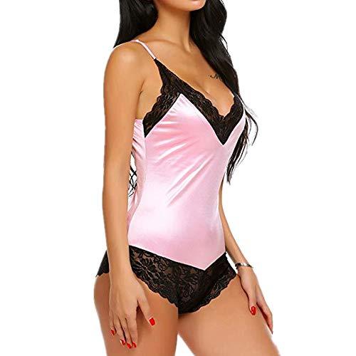 WY1688 Strapsen Tiefer V-Ausschnitt Dessous Spitze Dekor Bodysuit,Lingerie Reizwäsche Spitze Reizvolle Bodysuit Für Damen,Erotische Dessous Reizwäsche XXL