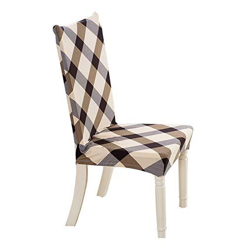 BANGSUN Funda elástica para silla de comedor, taburete de bar, funda protectora de tela de licra