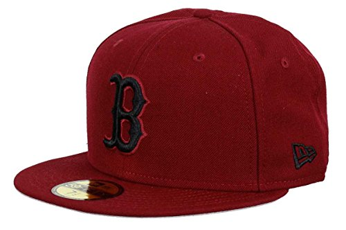 New Era - Boston Red Sox - 59fifty Cap - Cardinal Collection...