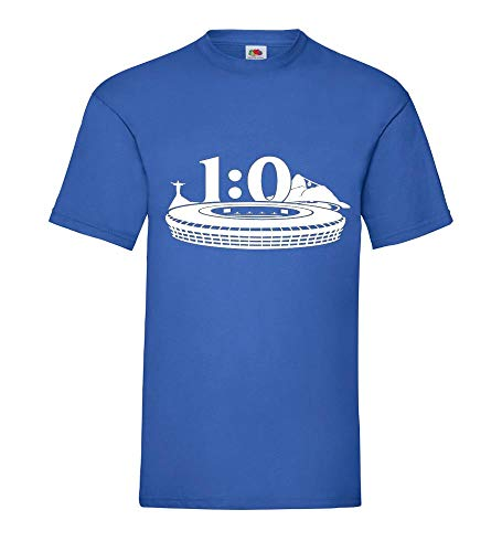 Shirt84.de Finale 2014 - Camiseta para hombre (escala 1:0), diseño de Alemania...