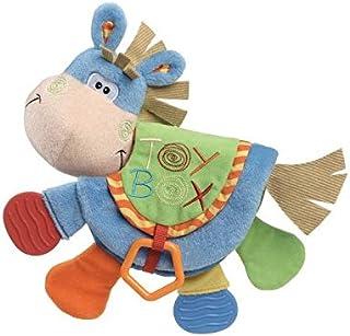لعبة عضاضة خرزية على شكل حمار صغير، وكتاب قماشي بشكل حيوانات، العاب تعليمية للاطفال