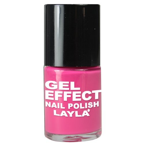Layla Cosmetics Milano Gel Effet Vernis à Ongles Barbie Pink 10 ml
