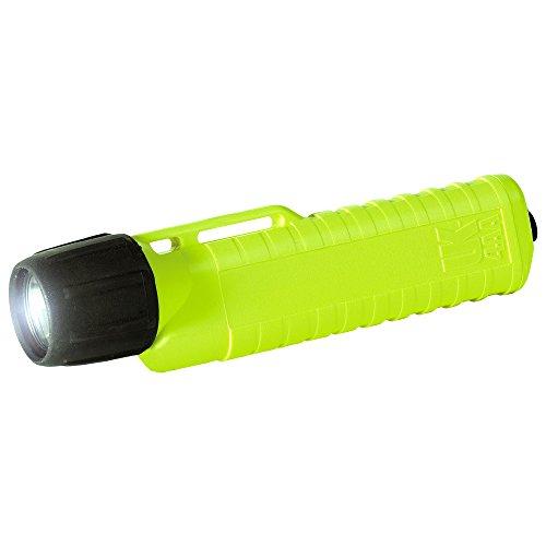 UK 4AA ET, jaune fluo, avec interrupteur arrière lampe poche