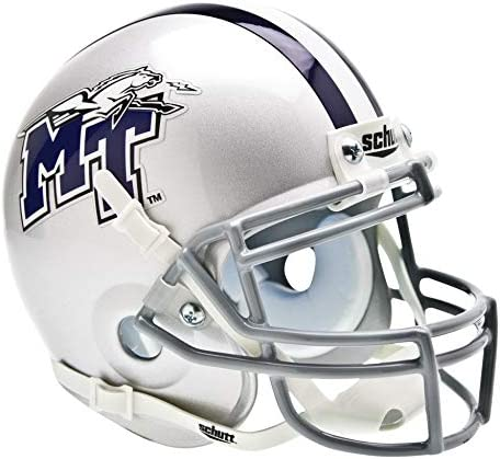 Schutt NCAA Middle Tennessee State Raiders Blue Authentic Mini Free shipping on posting reviews It is very popular X