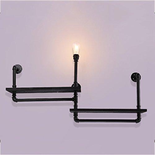 YLLXX Viento Industrial Lámpara De Pared Hierro Pasillo