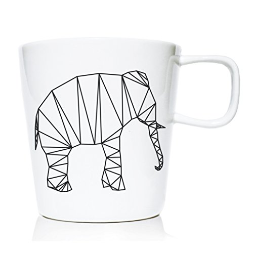 We Love Home - Tasse Mug en Porcelaine 20 cl. Style scandinave Design Origami II