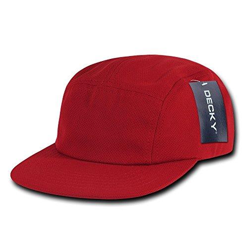 Decky Performance Mesh Racer Cap, Herren, 1000-RED, rot, Einheitsgröße