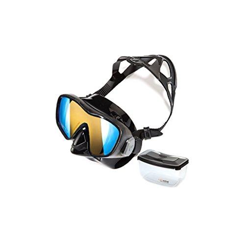 William 337 Duikbril Volwassen Snorkel Zwemmen Gehard Glas Silicone Voor Waterdicht Duikmasker