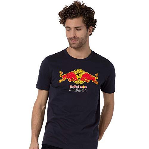 PUMA 596209-01_L T-Shirt, Navy, L Homme