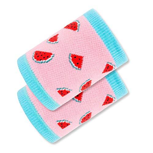 Schützendes Armband für Kinder, wassermelonenfarbiges Schutzarmband, Sport-Kompressions-Handgelenkbandage