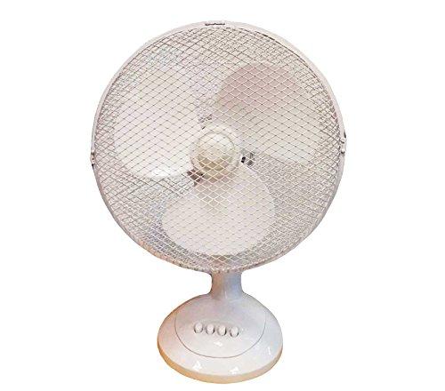 Ventilator tafelmodel wit 30cm (DSS-DS98317)
