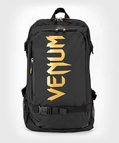 Venum Unisex-Adult Challenger Pro Evo Rucksack, Schwarz/Gold, eine Größe
