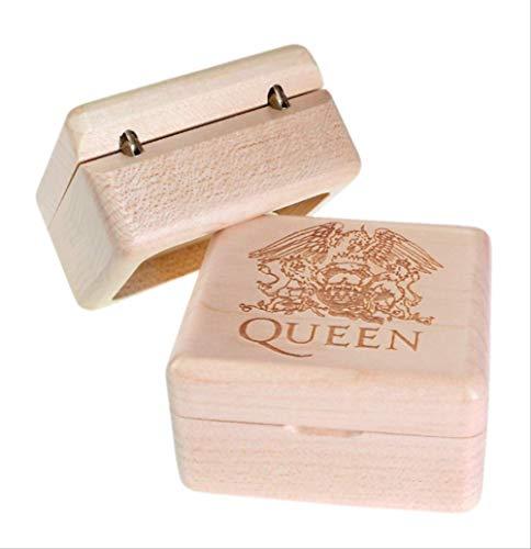Spieluhr Handgefertigt Aus Holz Queen-Bohemian RhapsodyGeburtstagsgeschenk Für Weihnachten/Geburtstag/Valentinstag Geschenk Ahornholz