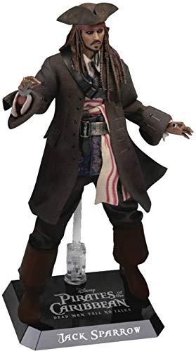 Beast Kingdom- Figura Disney Los Piratas del Caribe, Jack Sparrow (DAH-017)