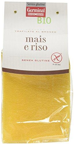 Germinal Bio Lasagne Mais e Riso - 250 gr - [confezione da 6], Senza glutine