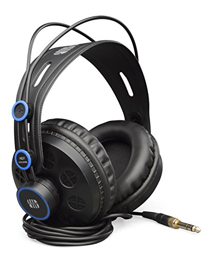 PreSonus HD7 Professional Monitoring Headphones, black, blue