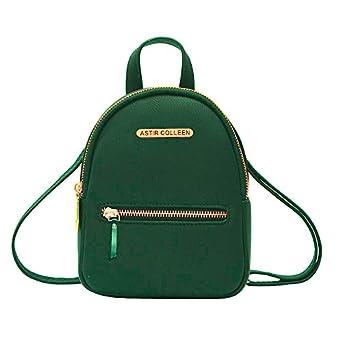 ASTIR COLLEEN Vegan Leather Women/Girls Sling Bag Cum Backpack (Flat-Zip)