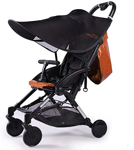 Universal Baby Stroller Canopy Extender Sun Shade Cover Sun Protection Parasol Blocks 99 of product image