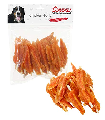 Corwex Hundesnack Chicken-Lolly Chicken-Flags (3 x 500g)