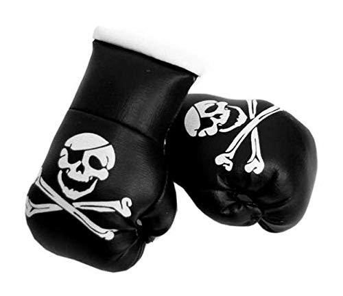 kenai dark Mini Boxhandschuhe Totenkopf,Mini Boxing Gloves Skull, Mini guantes de boxeo del cráneo