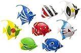 Schnooridoo 10 minipeces flotantes para acuario