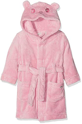 NAME IT Baby-Mädchen NMFRATTI Bathrobe Bademantel, Rosa Pink Nectar, 80