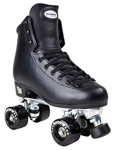 Rookie Rollerskates Artistic Skates Unisex Erwachsene Schwarz (Schwarz), 9